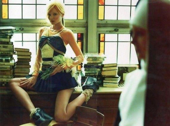 Экспрессивные и дерзкие фотографии для Vogue  http://www.inspireme.ru/post/76998