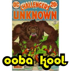 CHALLENGERS OF THE UNKNOWN / THE MONSTER MAKER / DC COMICS VOL 1 #79 APRIL 1973 / OobaKool Comics