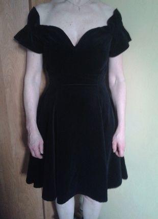 Kup mój przedmiot na #vintedpl http://www.vinted.pl/damska-odziez/sukienki-wieczorowe/8321017-czarna-welurowa-suknia-vintage