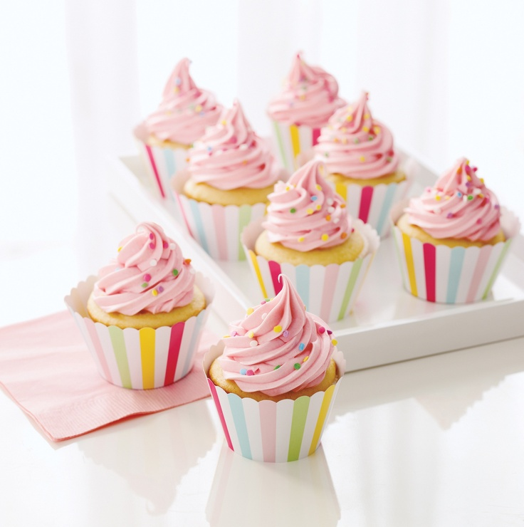 Modern Festive Cupcake Wrappers