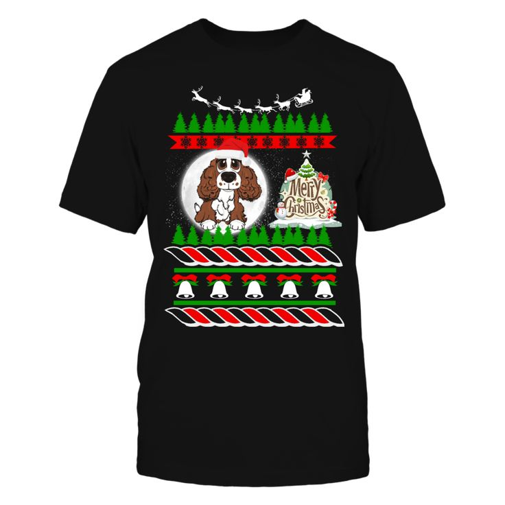 ENGLISH SPANIEL Ugly Christmas Sweater