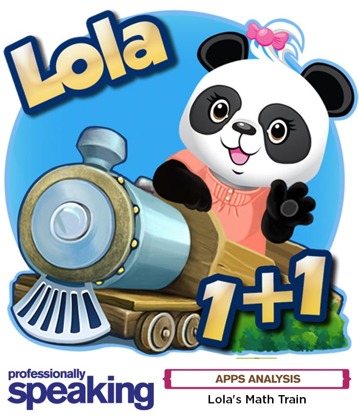 A likeable #panda named Lola wants to help boost your #students' confidence in #numbercrunching. Once aboard the #math train, for ages six to eight, select from a number of #problemsolving #games, including a straightforward sequencer that teaches numerical order and a #logic #puzzle that challenges players to identify the quantity of items in one box compared to another. #edtech #technology #app #mathfun #mathlesson #educational #educationalgame #education