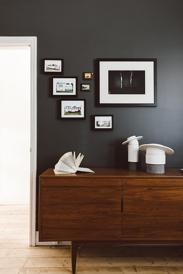 1000 ideas about charcoal walls on pinterest eclectic What color compliments brown furniture