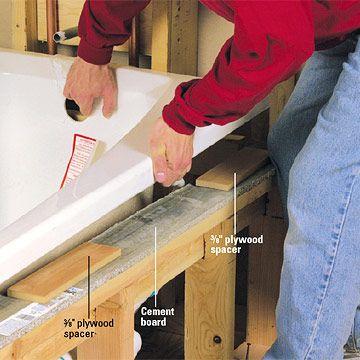Installing a Whirlpool Tub - How to Install a New Bathroom - DIY ...