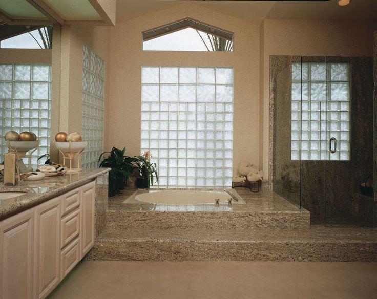 Brique de verre carrée / structure / isolante DECORA® LX Pittsburgh Corning