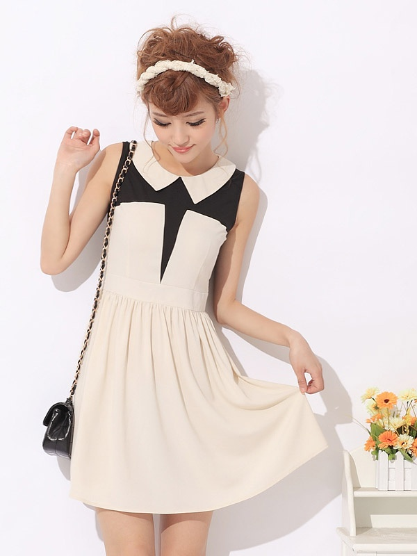 day dress 0058Women Fashion, Dresses 0058, Dresses Whitewhol, Sleeveless Shorts, Black White, Slim Dresses, Day Dresses, Vintage Inspiration, Shorts Slim
