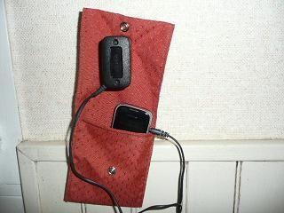 Coudre un porte chargeur de portable pour Papa (ou maman) ! The défi...