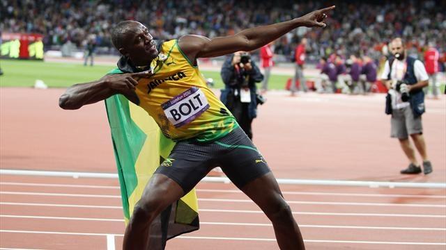 Jeux Olympiques 2012 - Athlétisme - Bolt