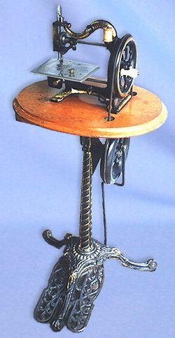 A treadle machine