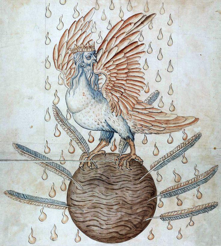 Detail from ripley scroll c 1570 bird of hermes pinterest the birds my name and hermes for Garden of eden tattoo