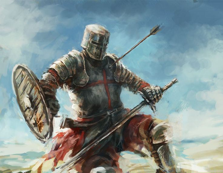 A heavy armored Teutonic knight. Fully armored and wearing a cape for comfort and protection against weather. Learning good from comments with the history of the knights. Thanks all, might have not...