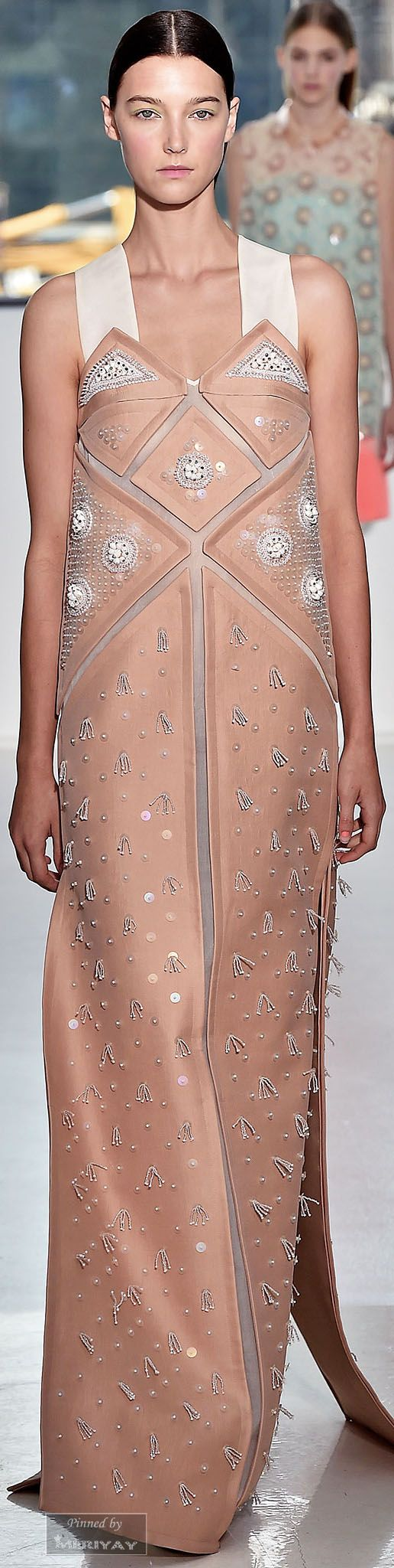 """Delpozo Spring 2015 ♥ """"And the LORD said to Moses, """"Go to the people and consecrate them today and tomorrow. Have them wash their clothes."""" Exodus 19:10"""