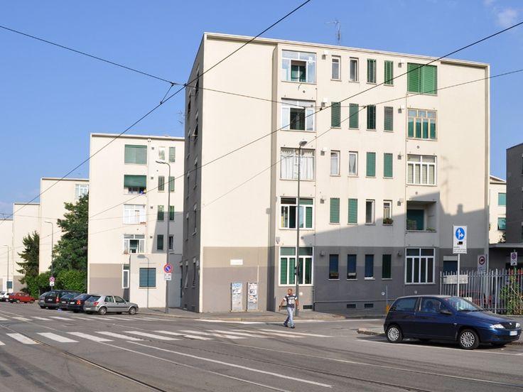 Quartiere Ifacp Ettore Ponti - Franco Albini e Milano - itineraries - Ordine degli architetti, P.P.C della provincia di Milano