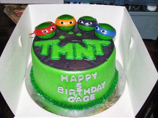 Teenage Mutant Ninja Turtle Cakes (09-01-2013)