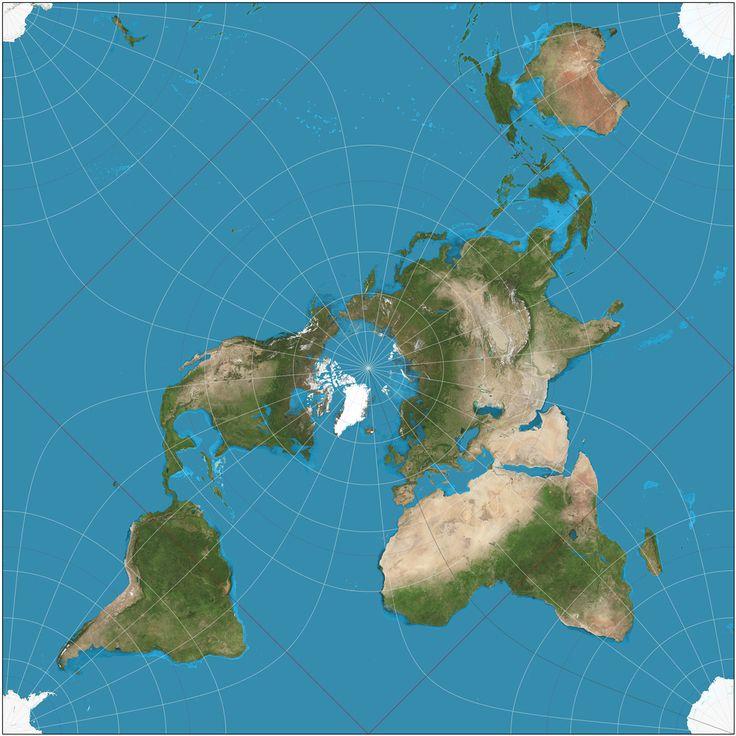 Карты мира из разных стран 2