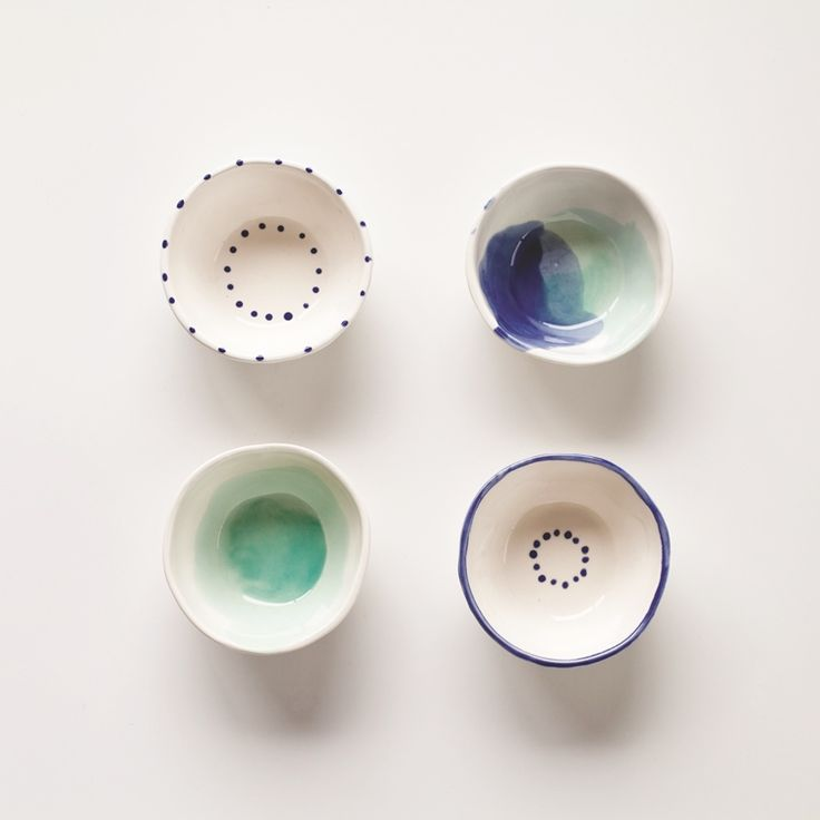 Limited - Dot Bowls Set - Designer Ceramics NZ