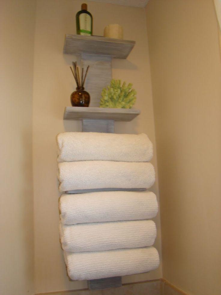 17 best ideas about bathroom towel storage on pinterest bathroom towels half bathroom remodel. Black Bedroom Furniture Sets. Home Design Ideas