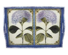 $375 - Large tray (21x15)  http://www.anniemodica.com/collections/large-trays/products/hydrangeas