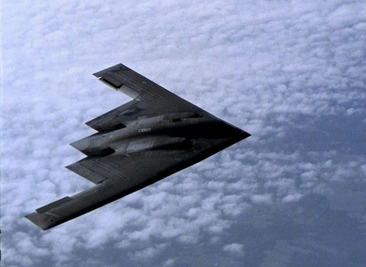 Northrop Grumman B-2 Spirit - revealed in 1988, a flying-wing design, combined with a body made of composite materials, special coatings and other technologies, to hide from radar. With aerial refueling, the B-2 can reach just about anyplace on the planet from the US. Over the last two decades, these stealth bombers have flown missions out of Missouri to places as far away as Kosovo, Afghanistan and South Korea, and back.