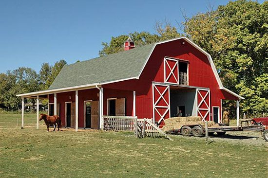 Luxury Horse Barn Building Designs Landscapeing