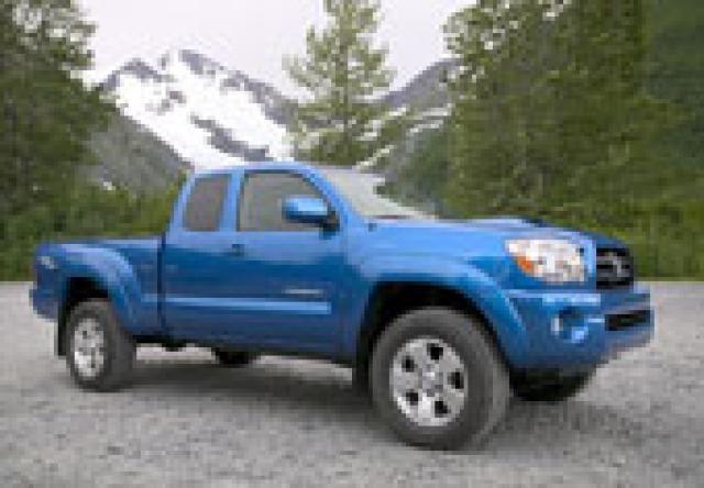 2008 Truck Gas Mileage Estimates: 2008 Toyota Tacoma Pickup Trucks