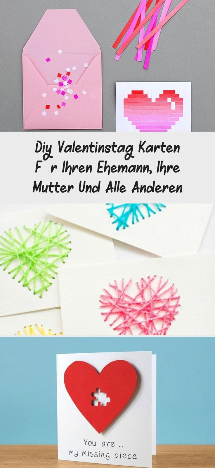 diy valentine's day cards for your husband mother and