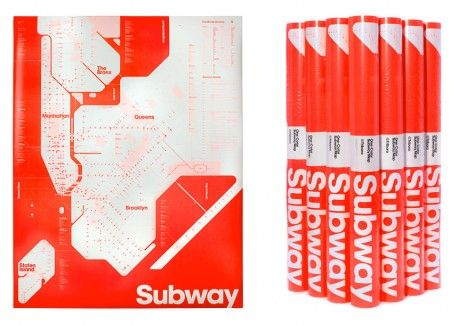 NYC Subway map — Triboro