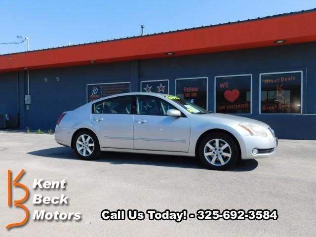 Used 2006 Nissan Maxima SL for Sale in Abilene TX 79605 Kent Beck Motors
