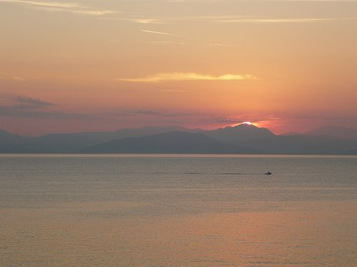 Corfu sunrise Share, Like, Repin! Also find us at http://instagram.com/mightytravels