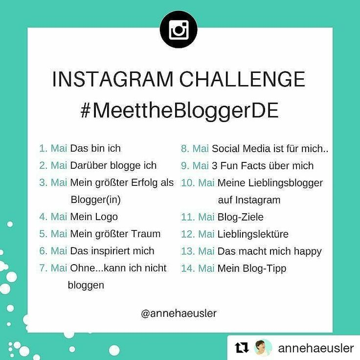 Gerade bei @stoffbonbon aufmerksam geworden. Ich versuche Mal  teilzunehmen und täglich zu posten...  #Repost @annehaeusler with @repostapp  Hallo ihr Lieben am 1.Mai ist es soweit: die #MeettheBloggerDE Instagram Challenge geht in die zweite Runde . Eingeladen sind alle deutschsprachigen Blogger(innen) die... Lust haben neue Blogs kennen zu lernen Abseits der eigenen Nische netzwerken möchten Den eigenen Blog vorstellen und bekannter machen wollen Sich über neue Kontakte auf Instagram…
