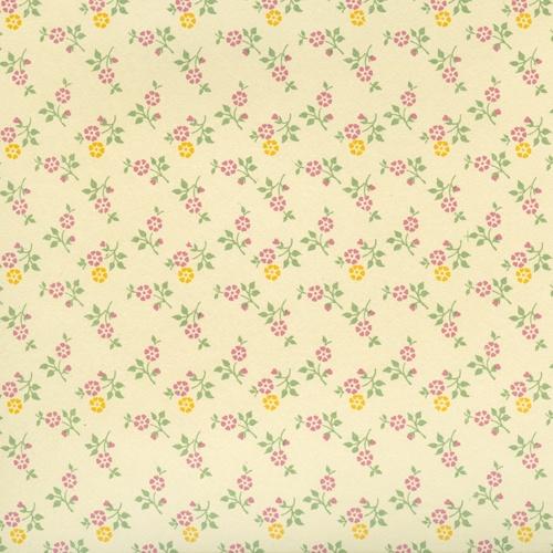 Geschenkpapier Carta Varese Blumentapete pink