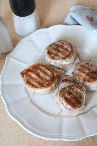 medaglioni di filetto di maiale alla griglia