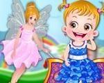 Em Bebê Hazel na Terra das Fadas, Bebê Hazel estava em um show de mágica quando viajou para o mundo das fadas. Mas a Bebê Hazel tem uma tarefa mundo importante lá, ela precisa encontrar a flor cor de rosa. Junte-se a Bebê Hazel nesta fantástica aventura pela Terra das Fadas. Divirta-se com a Bebê Hazel!