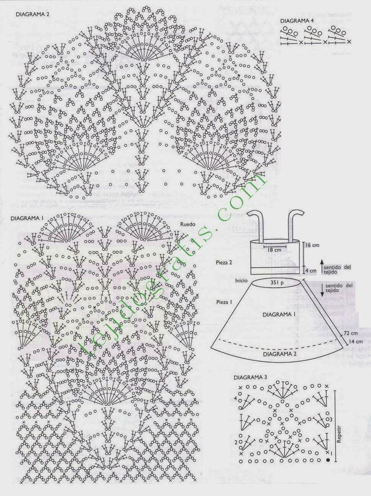 277 best crochet images on Pinterest | Crochet patterns, Crochet ...