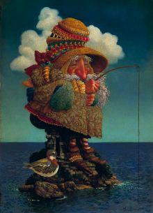 Fishing | James C. Christensen