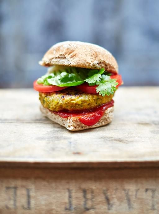 The best vegan burger  Full of flavour   Read more at http://www.jamieoliver.com/recipes/vegetables-recipes/the-best-vegan-burger/#7vcjtxIXg296Kirp.99