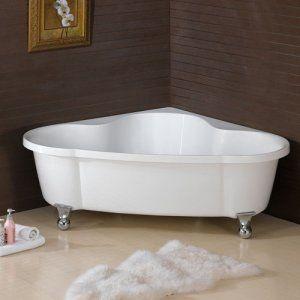 corner claw foot tub claw foot bathtub pinterest clawfoot tubs