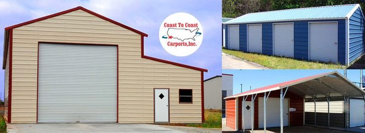 A custom steel building for your storage will be the perfect fit, and will not break the bank. Contact Coast to Coast Carports and see how easy it is to own a custom metal building