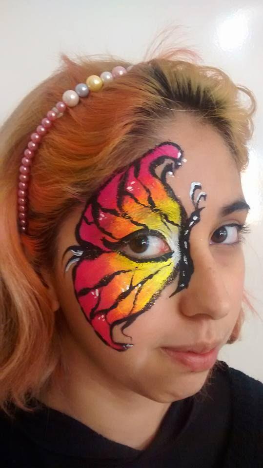 #CursoDeMaquillajeArtistico #CursoDeMaquillajeInfantil #MaquiartCin Maquillaje de Mariposa
