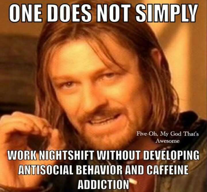 This is explains why I am more introverted now than before I went on 3rd shift
