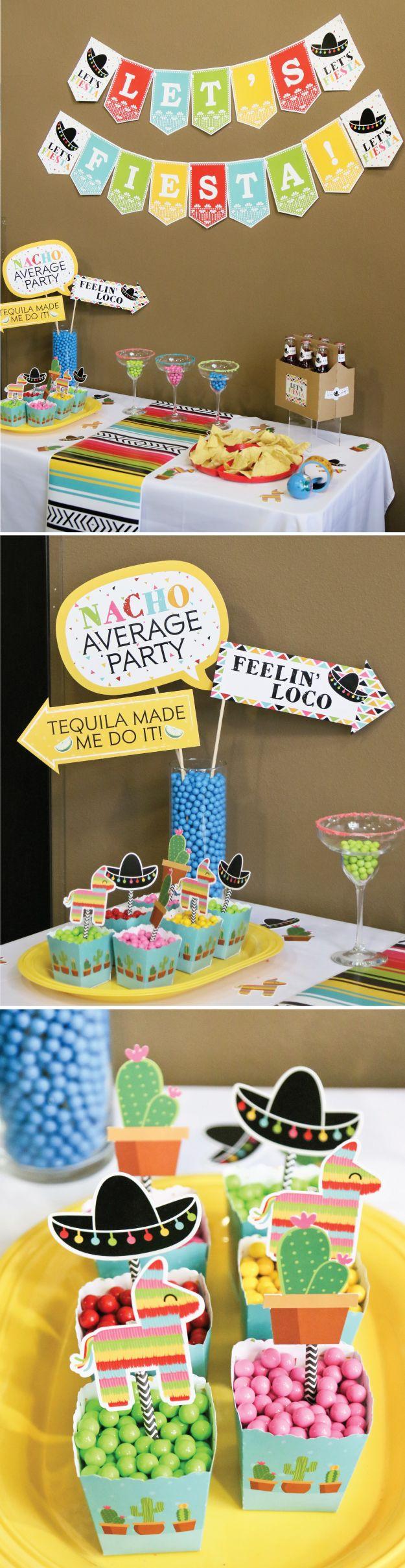 Office ideas for cinco de mayo - Mexican Fiesta For Cinco De Mayo May 5th Party Ideas