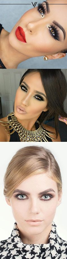 Prom Glam Makeup and Hair