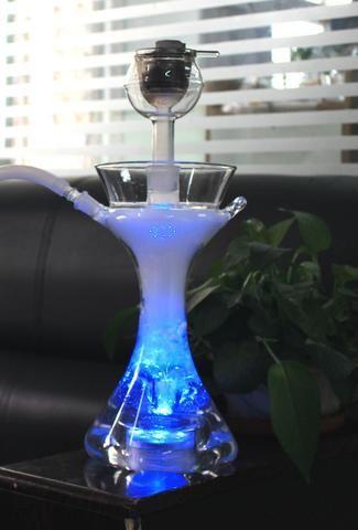 Chicha en verre Borosilicate - 40cm LED