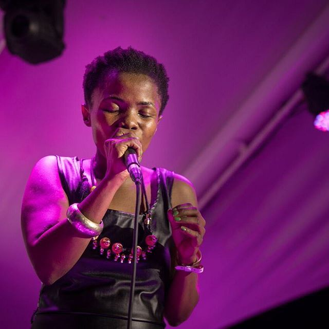 'Our first Women Crush Wednesday is a salute to the beautiful and talented Zolani Mahola from @Freshlyground who owned the stage at our Ericsson Innovation Awards at the Afest opening of AfricaCom. #WomenCrushWednesday #WCW #Freshlyground #LoveWhatYouDo #BeyondTheImagination #Singer #Performance #Awards #CreativeAgency #Production #PremiumEvents #EventProfs #SmartCreatives #Celebration' by @beyondred_experiences. What do you think about this one? @jsfuneventhire @howeandco66…