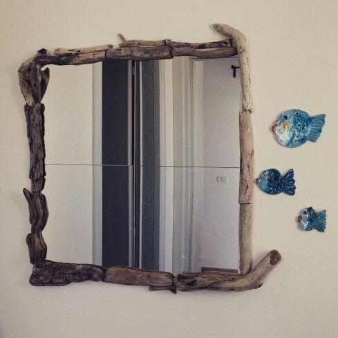Driftwood mirror #bymyself