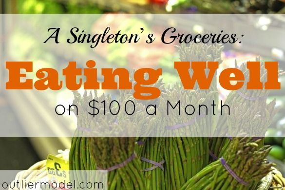 Yes!It's possible that you can go eating well on $100 a month!Find out what you should do to create that food budget for you,here in this article.