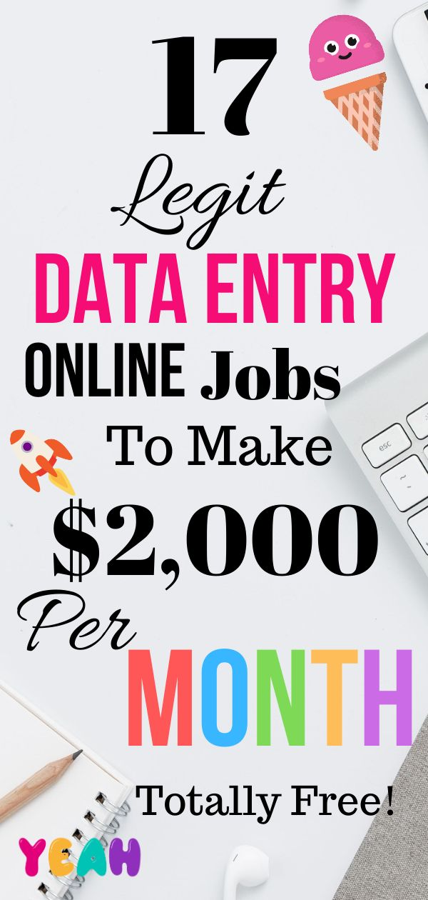 17 Best Data Entry Online Jobs, Work from Home for Everyone