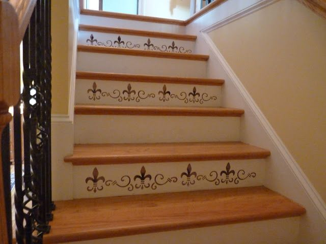 "I would have done every stair, but this offers some insight into the ""how to"" part of stair stencils."