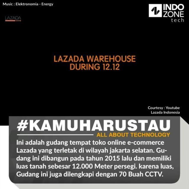 zpr Pada tahun 2015 lalu, Lazada telah berhasil membangun gudang penyimpanan terbesar di Indonesia untuk bidang e-commerce. ⠀ Diketahui gudang tersebut memiliki luas 12 ribu persegi dan menjadi gudang penyimpanan seluruh barang mulai dari persediaan stok dan sebagainya. Permintaan transaksi online saat ini memang sedang meningkat tajam di Indonesia. ⠀ Gudang Lazada terbaru ini berada di wilayah Jakarta Selatan. Gudang ini pun memiliki dua area berbeda, dimana area pertama untuk penyimpanan…