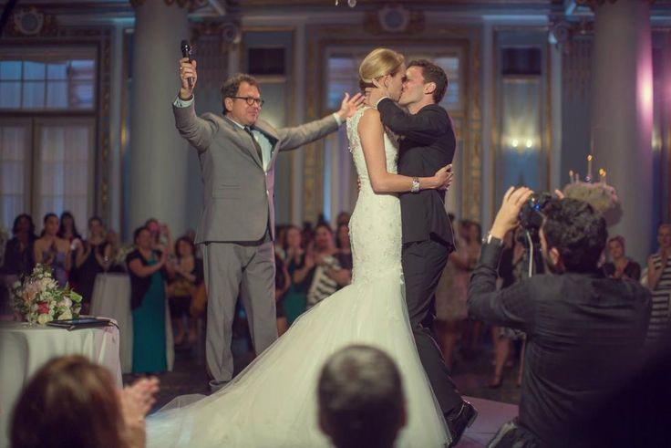 Michel Boulanger de www.mariagesabras… Célèbre un mariage surprise pour le 2…